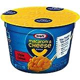 Kraft Easy Mac Triple Cheese Microwavable Cup (2.05oz Cups, Pack of 10)