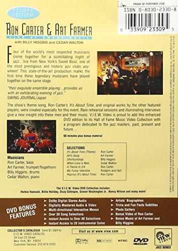 Ron Carter & Art Farmer - Live at Sweet Basil Reino Unido DVD ...