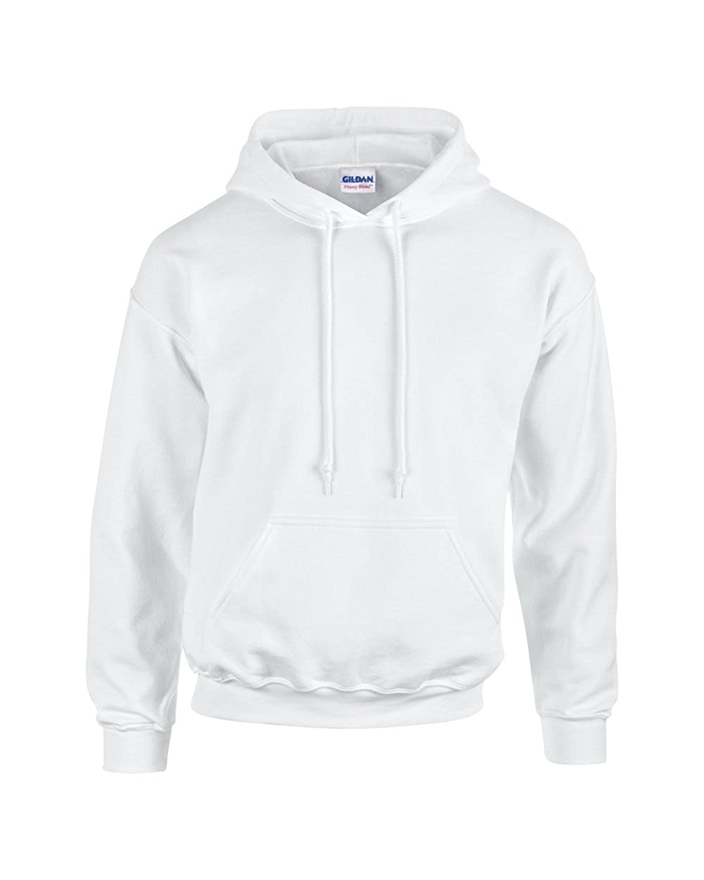 Gildan Heavyweight Blend Youth Hooded SweatShirt White S