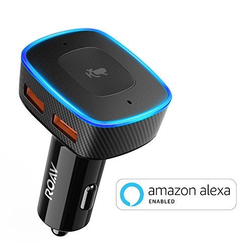 Roav Viva by Anker, Alexa-Enabled 2-Port USB Car Charger in-Car Navigation, Voice...