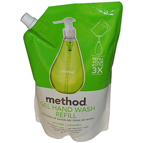 Method Gel Hand Wash Refill Cucumber 34 fl oz 1 L