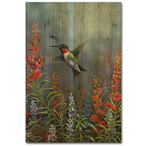 WGI-GALLERY WA-SH-812 Summer Hummer Wall Art