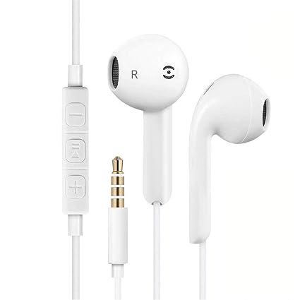 Paopi Auriculares In-Ear Auriculares con microfono, Estéreo para iPhone 6, Plus 6s
