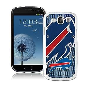 DIY Custom Phone Case For Samsung S3 Buffalo Bills 04 White Phone Case For Samsung Galaxy S3 Case