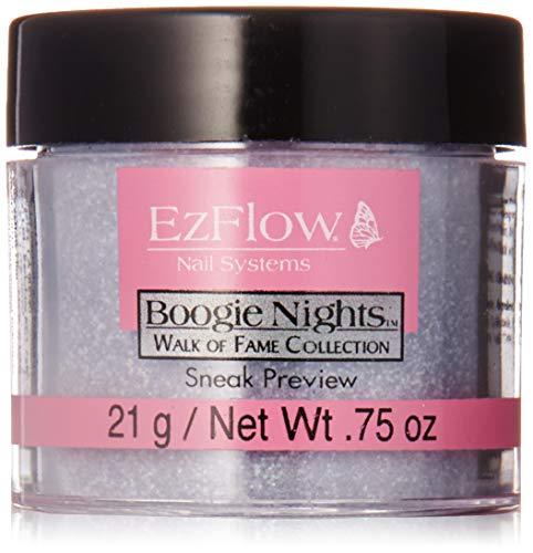 EZ Flow Walk of Fame Glitter False Nails, Sneak Preview, 0.75 Ounce