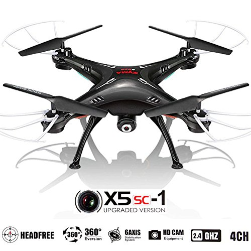 Amazon.com: Drone with Camera for Sale - X5SC Quadcopter RC ...