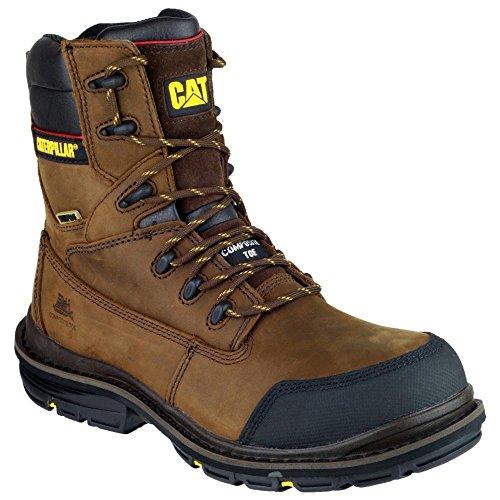 Caterpillar, botas para hombre Marrón - Marrón-marrón
