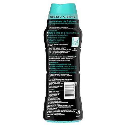Downy Unstopables in-Wash Scent Booster Beads, Fresh, 20.1 Ounce (Packaging May Vary) by Downy (Image #2)