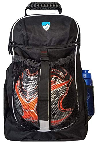 Hard Work Sports Basketball Backpack, Soccer Bag with Ball Compartment Unisex One Size by Hard Work Sports (Image #1)