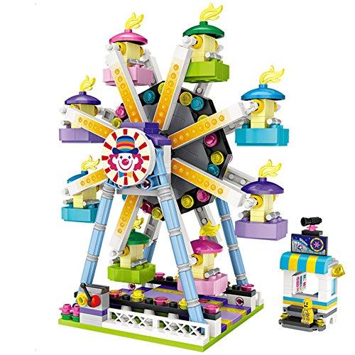LOZ Creator City Playground Ferris Wheel Model Building Kits Blocks Construction Toys - 609pcs