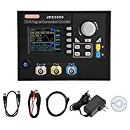 Signal Generator, JDS2800 15MHz/40MHz/60MHz DDS Signal Generator Counter, AC100-240V Dual-Channel DDS Function Arbitrary Waveform Signal Generator + Software (60MHz)
