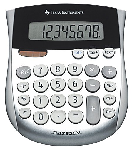 Texas Instruments TI-1795 SV Mini-Desktop Calculator 17311-02 Cole-Parmer TI-1795SV