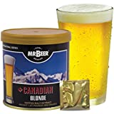 Mr. Beer Canadian Blonde Home Brewing Beer Refill Kit