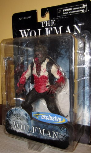 Mezco The Wolfman with Cane Chase Variant Bloody Figure New
