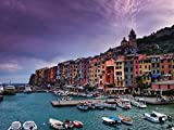 Wallmonkeys Portovenere La Spezia Province Wall Decal Peel and Stick Graphic WM305604 (30 in W x 23 in H)