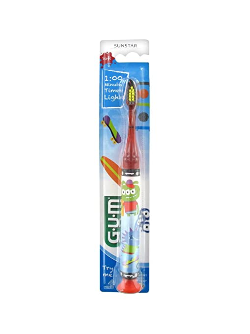 Gum Sunstar – Cepillo de dientes Timer Light 7 años ...