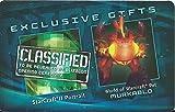 Blizzcon 2011 exclusive Murkablo pet World Warcraft wow + SC2 portrait loot card