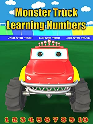 Monster Truck Learning Numbers