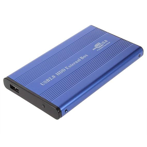 ToGames-ES Carcasa de Disco Duro de aleación de Aluminio y magnesio Carcasa Externa de USB 2.0: Amazon.es: Electrónica