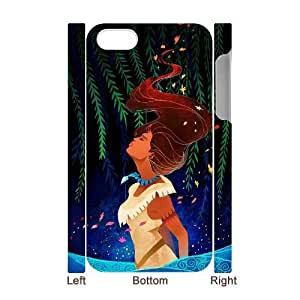 Cheap 3D iPhone 4,4G,4S Case, Pocahontas quote New Fashion Phone Case
