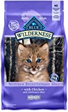 Blue Buffalo Wilderness High Protein Grain Free, Natural Kitten Dry Cat Food, Chicken 5-lb Larger Image