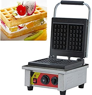 NP-540 Commercial Two Slices Rectangle Egg Waffle Maker Electric Ice Cream Cone Baker Waffle