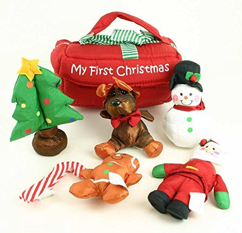 My First Christmas Baby Toy - Set of 7 (Santa's Reindeer Make This Noise)