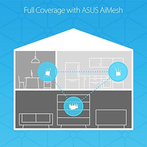 ASUS RT-AC68U AiMesh (2 pack) AC1900 Whole Home Dual-band - Import