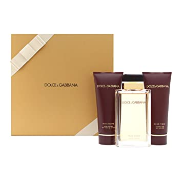 Image Unavailable. Image not available for. Color: Dolce & Gabbana Gift Set Dolce & Gabbana Pour Femme ...