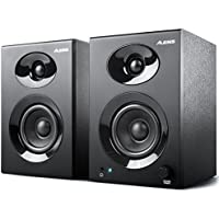 Alesis Elevate 3 MKII - Paire d'Enceintes Multimédia 60 W avec Bass Boost pour Création Vidéo, Gaming, Musique sur PC et MAC
