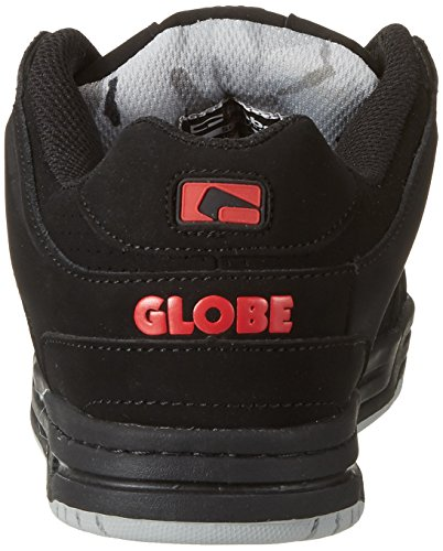 Skateboard Globe de Black Scribe Homme Noir Red Chaussures Black Anq6nBH4