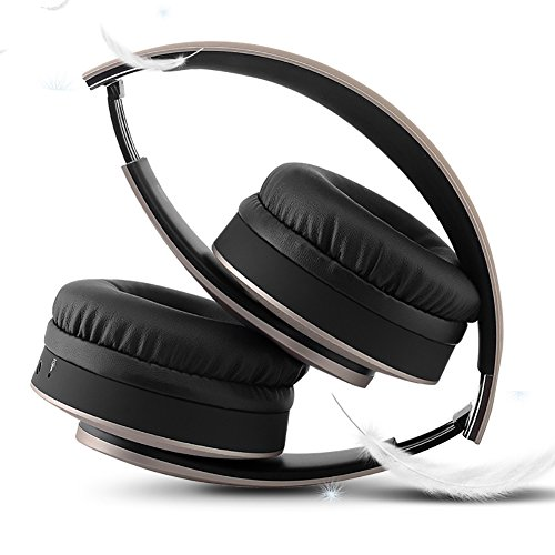 LQUYY N13 Head-Mounted Folding Binaural Wireless Bluetooth Headset TF Card Energy Saving Bass -