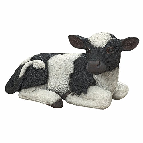 Cupcake, the Baby Cow, Ultra-realistic Outdoor Garden Hol...