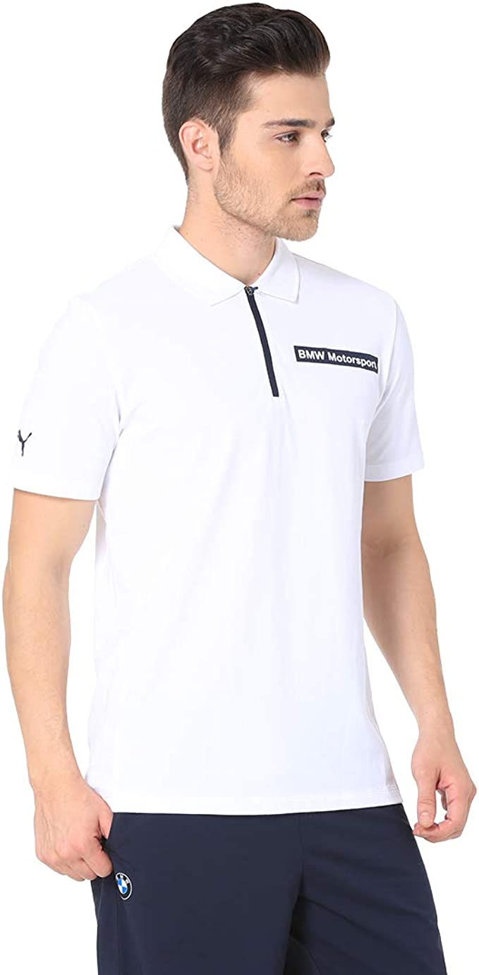 Polo 1/4 zip Puma BMW Motorsport: Amazon.es: Ropa y accesorios