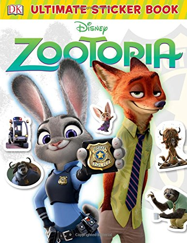 Ultimate Sticker Book Zootopia Collections