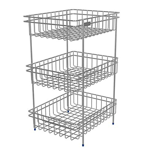 Susang 3 Layer Stainless Steel for Kitchen Storage Trolley
