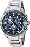 Citizen Men's Eco-Drive Quartz Titanium Strap, Silver, 21 Casual Watch (Model: BL5558-58L