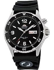 "Orient #FEM65004B Men's ""Back Mako"" 200M Automatic Diver Watch with Rubber Strap"