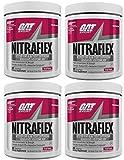 GAT Nitraflex Pre Workout 300gram,30Sx4 PACKS (Fruit Punch)