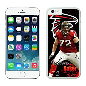 NFL Atlanta Falcons Sam Baker iPhone 6 Cases White 4.7 Inches NFLIphoneCases13571 by kobestar