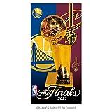 WinCraft Cleveland Cavaliers Vs. Golden State Warriors NBA 2017 Finals Dueling Beach Towel 30'' x 60''