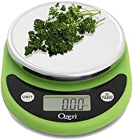 Ozeri Pronto Digital Multifunction Kitchen and Food Scale, Elegant Black