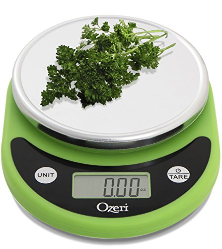 Ozeri ZK14-L Pronto Digital Multifunction Kitchen and Food Scale, Lime...