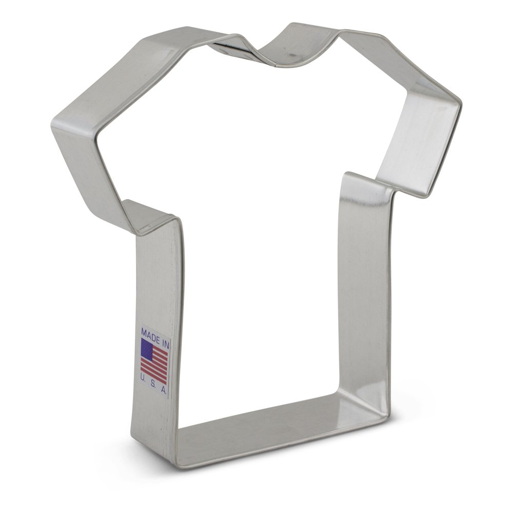 Ann Clark Cookie Cutters FT7117 T Shirt 4 1/2-Inch Cookie Cutter Proudly Made in USA 7117A