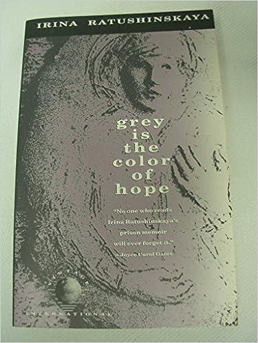 Grey Is The Color of Hope: Irina Ratushinskaya: 9780679724476 ...
