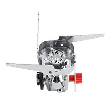Acogedor A Prueba de Viento Mini Estufa de Gas Hornilla Barbacoa al Aire Libre Camping Picnic con Encendido electrónico: Amazon.es: Hogar