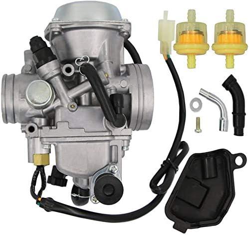 Amazon Com Carburetor For Honda Rancher 350 Trx350 350es 350fe 350fmte 350tm 2000 2006 Trx350 Carburetor Automotive