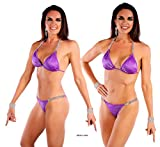 Elegantfitt Competition Bikini Suit with Imitation Swarvoski Crystals