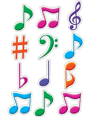 Teacher Created Resources 5482 Musical Notes Mini Accents]()
