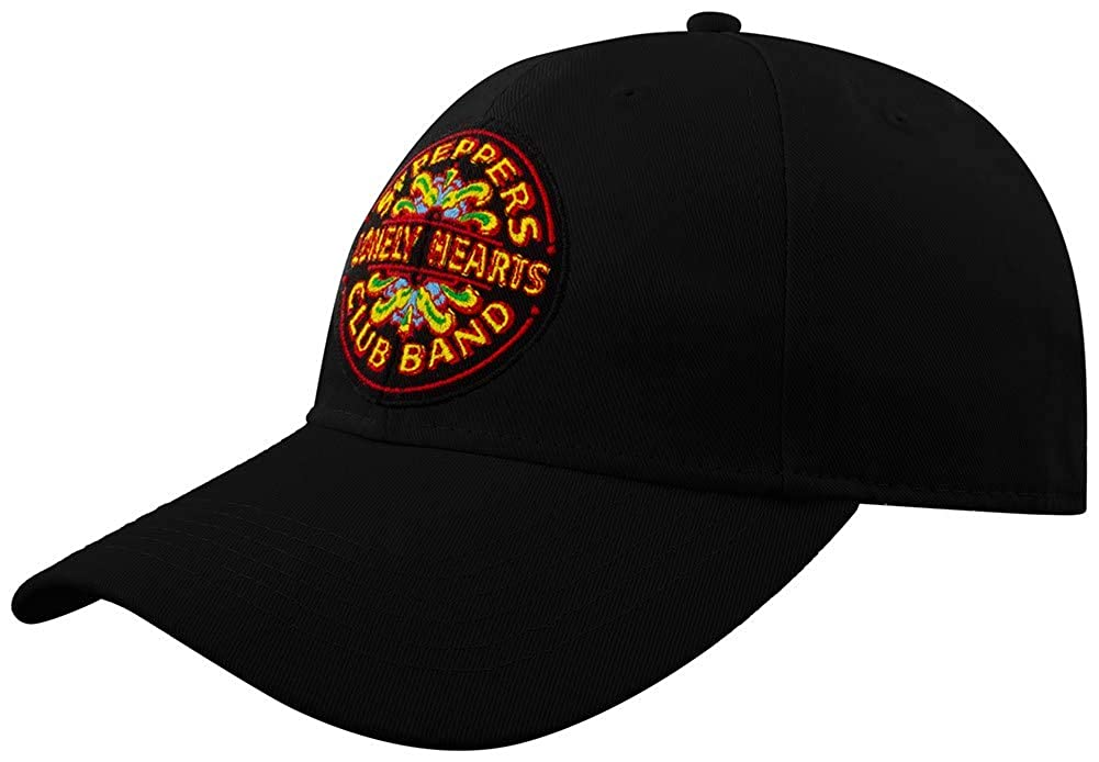 Beatles The Men's Baseball Cap: SGT. Pepper (Black)